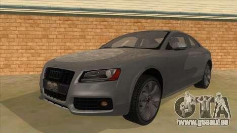 Audi S5 Sedan V8 pour GTA San Andreas