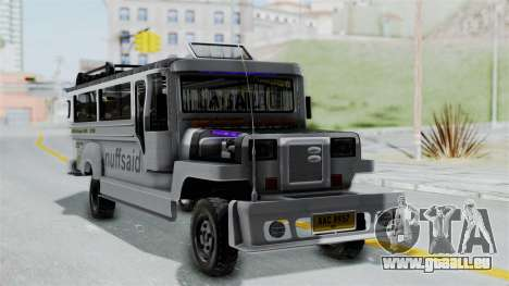 Jeepney Philippines pour GTA San Andreas