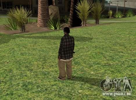 Black fam2 pour GTA San Andreas deuxième écran