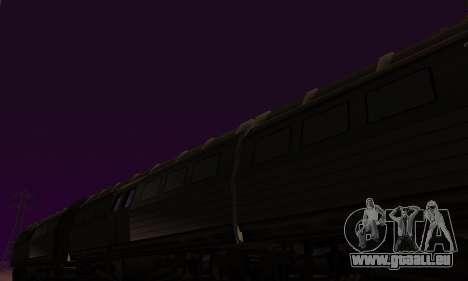 Batman Begins Monorail Train Vagon v1 pour GTA San Andreas vue intérieure