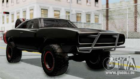 Dodge Charger 1970 Off Road  F&F7 pour GTA San Andreas