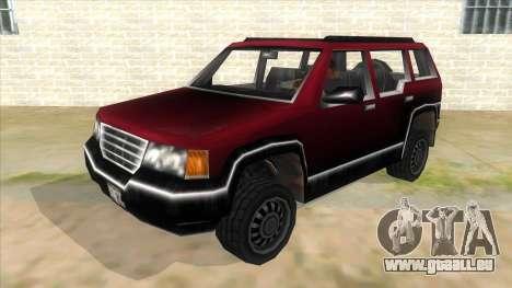GTA III Landstalker für GTA San Andreas