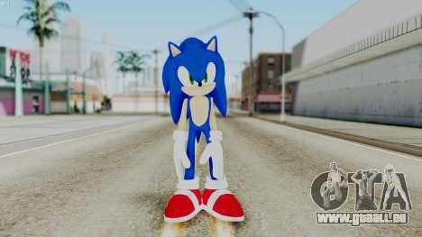 Sonic The Hedgehog 2006 für GTA San Andreas zweiten Screenshot