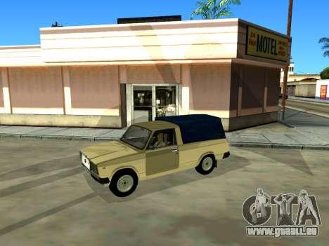 VAZ 2104 Ramassage pour GTA San Andreas vue de côté