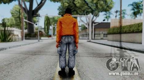 CS 1.6 Hostage 04 pour GTA San Andreas troisième écran