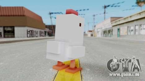 Crossy Road - Chicken für GTA San Andreas dritten Screenshot
