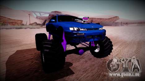 Nissan Silvia S14 Monster Truck pour GTA San Andreas roue