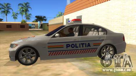BMW 330XD Romania Police für GTA San Andreas linke Ansicht