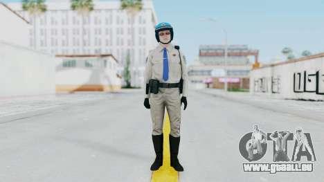 GTA 5 Cop-Biker pour GTA San Andreas deuxième écran