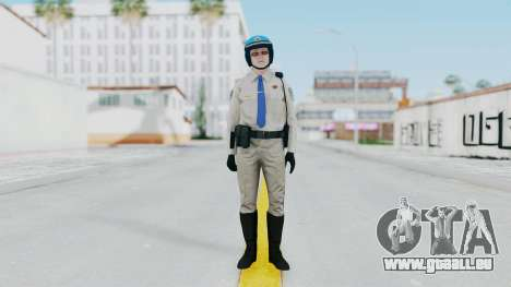 GTA 5 Cop-Biker für GTA San Andreas zweiten Screenshot
