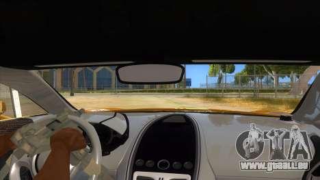 Aston Martine One-77 2010 Autovista pour GTA San Andreas vue intérieure