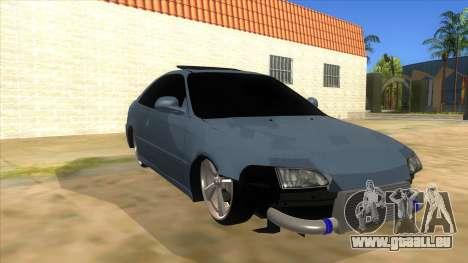 Honda Civic Coupe 1995 pour GTA San Andreas vue arrière