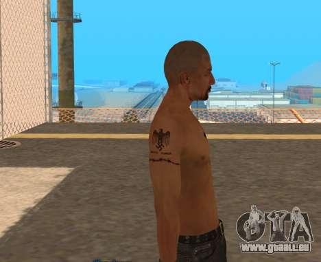 Derek Vinyard: American history X pour GTA San Andreas troisième écran