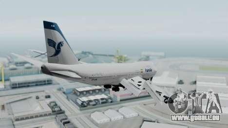 Boeing 747-186B Iran Air pour GTA San Andreas vue de droite