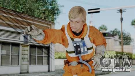 SWTFU - Luke Skywalker Pilot Outfit für GTA San Andreas