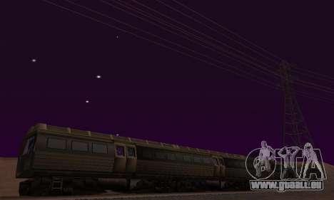 Batman Begins Monorail Train Vagon v1 pour GTA San Andreas salon