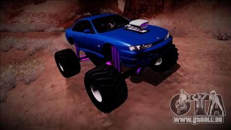 Nissan Silvia S14 Monster Truck für GTA San Andreas Motor