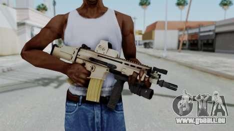 Arma2 MK16 Holo pour GTA San Andreas troisième écran