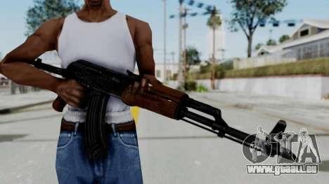 New HD AK-47 pour GTA San Andreas troisième écran