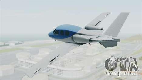 GTA 5 Vestra für GTA San Andreas linke Ansicht