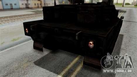 Point Blank Black Panther Rusty IVF für GTA San Andreas Seitenansicht