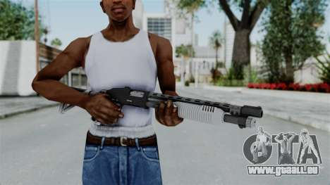 GTA 5 Pump Shotgun - Misterix 4 Weapons für GTA San Andreas dritten Screenshot