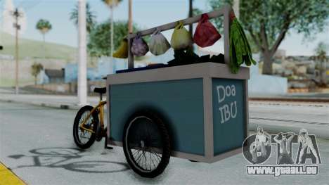 Gerobak Sayur (Vegetable Carts) für GTA San Andreas