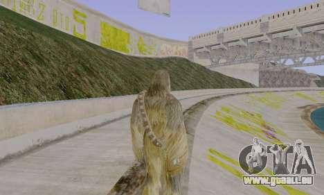 Chewbacca pour GTA San Andreas troisième écran