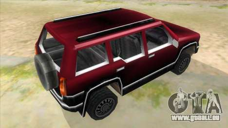 GTA III Landstalker für GTA San Andreas rechten Ansicht
