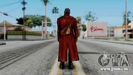 Marvel Future Fight - Star-Lord pour GTA San Andreas troisième écran
