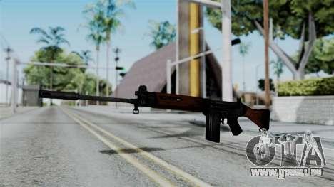 No More Room in Hell - FN FAL pour GTA San Andreas deuxième écran