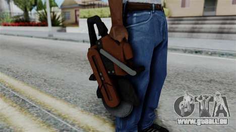 No More Room in Hell - Abrasive Saw pour GTA San Andreas troisième écran