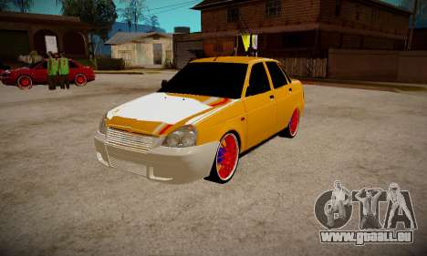 Lada 2170 Priora Gold pour GTA San Andreas
