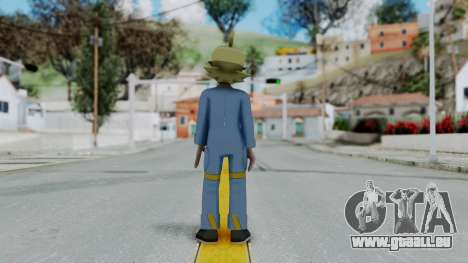Pokémon XY Series, Clemont pour GTA San Andreas troisième écran