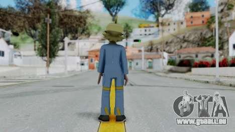 Pokémon XY Series, Clemont für GTA San Andreas dritten Screenshot