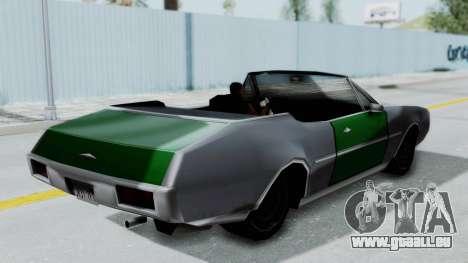 Clover Cabrio für GTA San Andreas rechten Ansicht