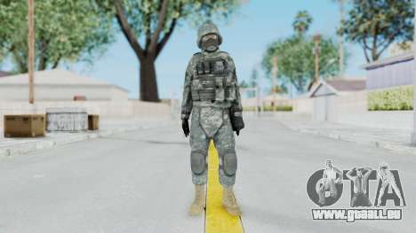 Acu Soldier 5 pour GTA San Andreas deuxième écran