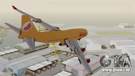 GTA 5 Jumbo Jet v1.0 Adios Airlines pour GTA San Andreas vue de droite