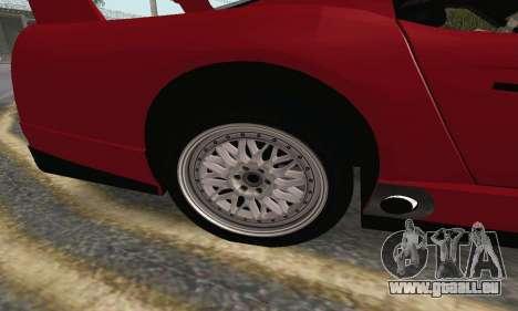Dodge Viper Competition Coupe für GTA San Andreas zurück linke Ansicht