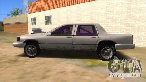 Stretch Sedan Drag pour GTA San Andreas laissé vue