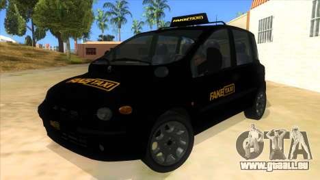 Fiat Multipla FAKETAXI pour GTA San Andreas