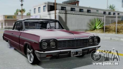 Chevrolet Impala 1964 pour GTA San Andreas