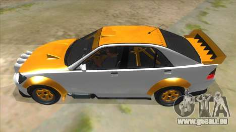 GTA V Karin Sultan RS 4 Door pour GTA San Andreas laissé vue