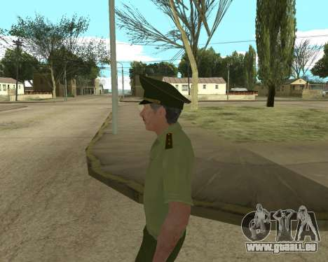 Senior warrant officer danyluk für GTA San Andreas sechsten Screenshot