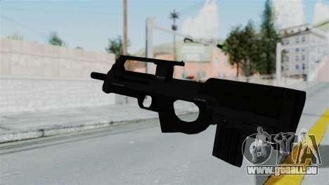 GTA 5 Assault SMG pour GTA San Andreas troisième écran