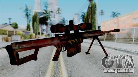 Barret 50.cal Phoenix pour GTA San Andreas deuxième écran