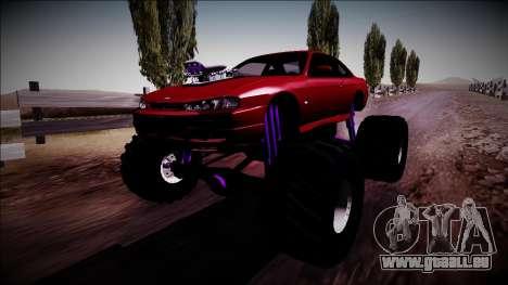 Nissan Silvia S14 Monster Truck pour GTA San Andreas