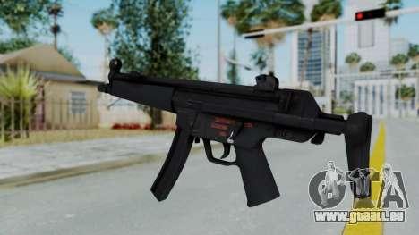 Arma AA MP5A5 für GTA San Andreas zweiten Screenshot