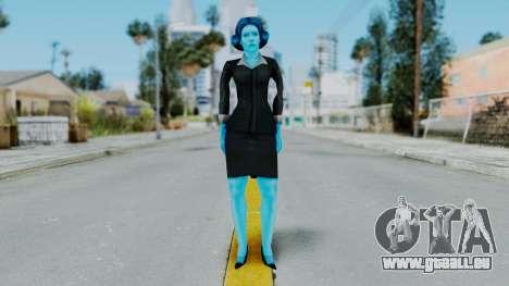 Bully Insanity Edition - Miss Danvers pour GTA San Andreas deuxième écran