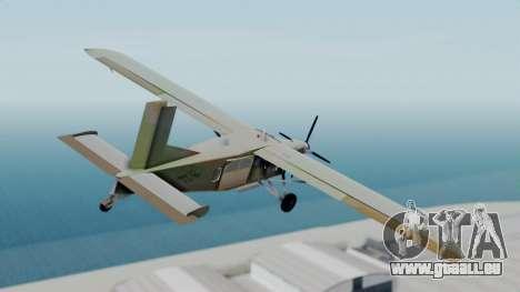 PC-6 USAF Markings pour GTA San Andreas laissé vue